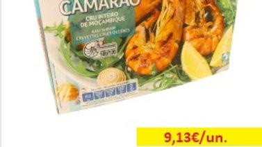 camarão selvagem 100/120 moçambique congelado Amanhecer R 800gr.