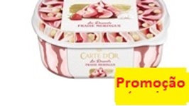 gelado strawberry merengue Carte d'Or 900ml.