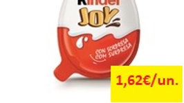 ovo chocolate leite com surpresa Kinder Joy 20gr.