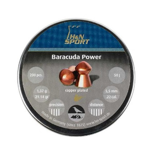H&N Loodjes Baracuda power copper plated 5.5mm