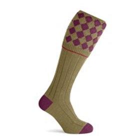 Pennine The Kendal sock Claret