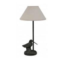 Bronzen lamp snip - lampe becasse