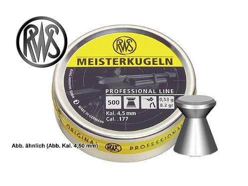 RWS Meisterkugeln 4.5mm glad