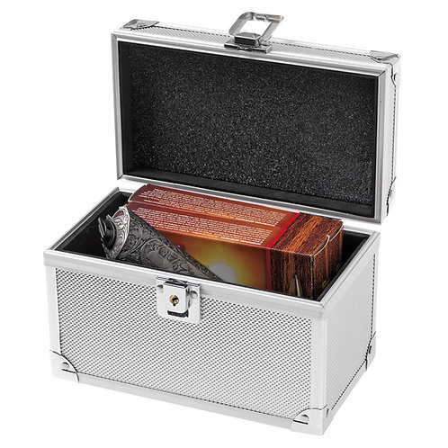 Aluminium ammo case air proof 150patronen