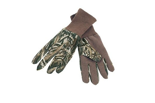 Max 5 gloves with silicone dots realtree