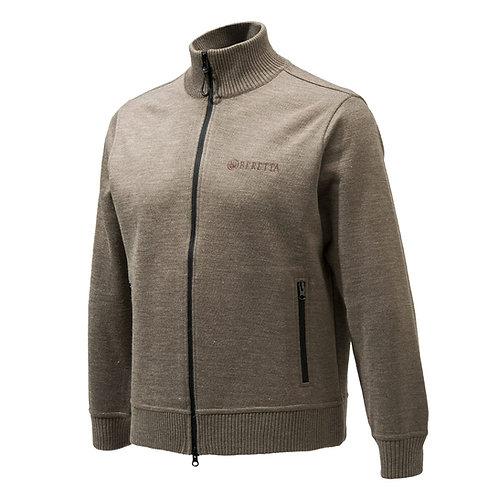 Beretta technoshield Long zip sweater winddicht
