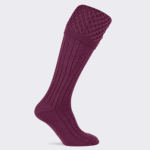 Pennine The Chelsea sock Claret