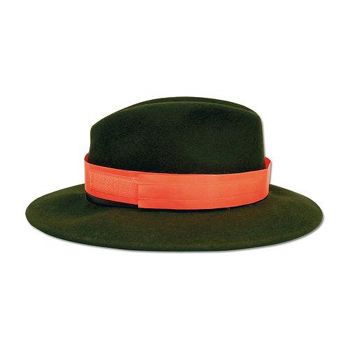 fluo veiligheidsband voor hoed