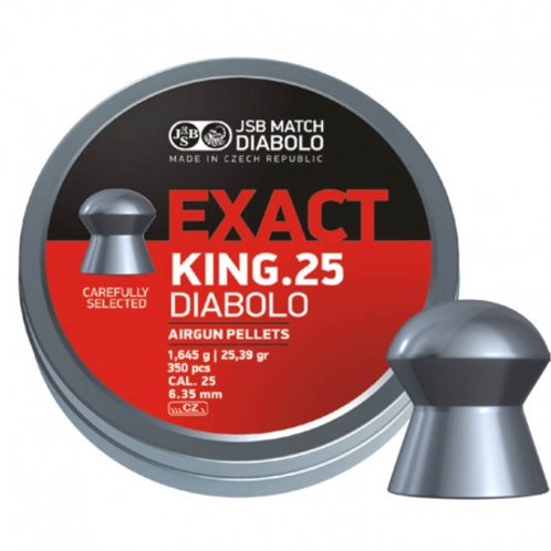 Loodjes JSB exact King 6.35mm