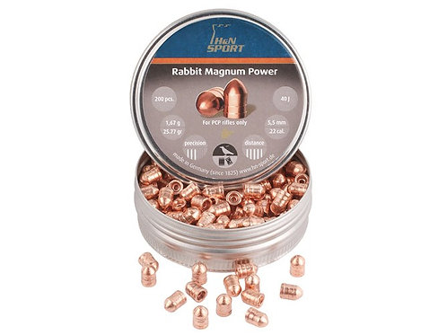 H&N Loodjes Rabbit Magnum Power Copper Plated 5.5mm