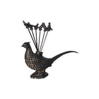 apero prikker fazant -porte piques apero phaisant