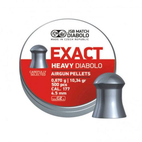 Jsb loodjes Exact Heavy 4.5mm