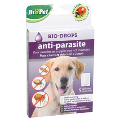 Biopet anti-parasite bio-drops