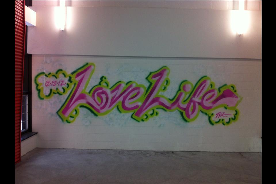 Love Life - Cursive