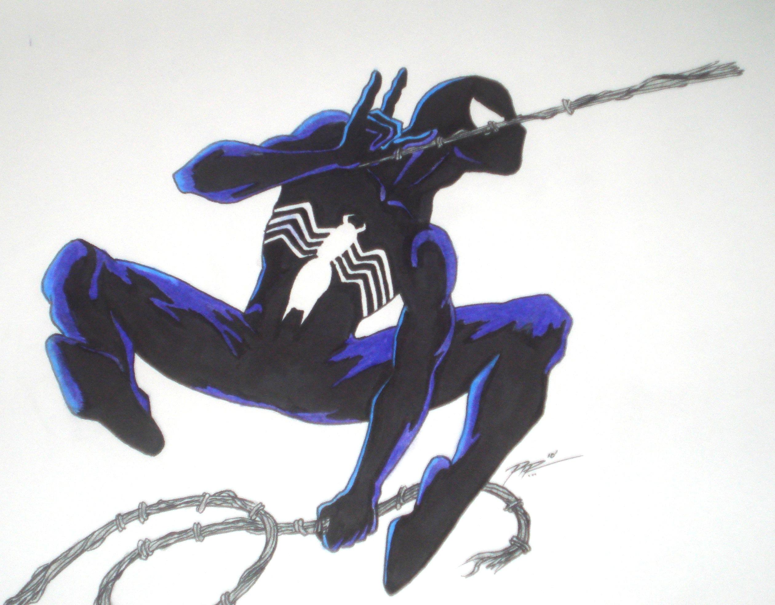 Symbiote Suit Spider