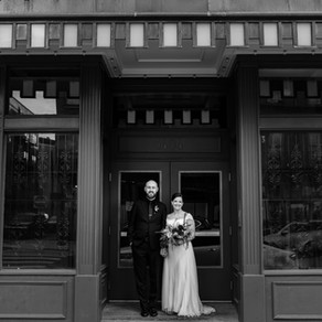 Backstage Event Center Wedding in OTR Over-The-Rhine, Downtown Cincinnati, Ohio