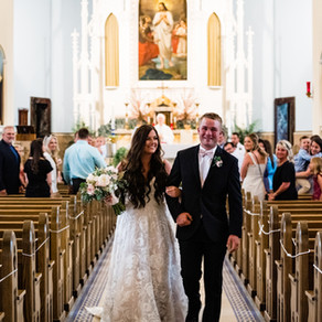 Holy Trinity Church Dayton Wedding Ceremony