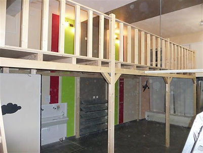 Mezzanine en bois sur mesure Vous souhaitez réaliser une mezzanine bois pour créer et aménager un espace supplémentaire Gagnez de la surface grâce à une mezzanine sur mesure ...