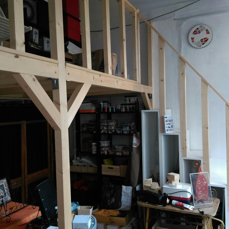 mezzanine Ajustable sur place