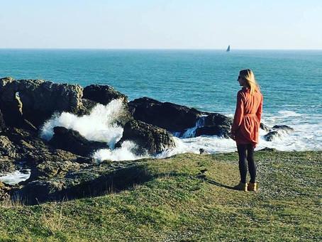 A méditer face à l'océan