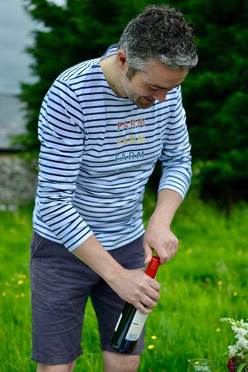 Men's Long Sleeve Stripe T-Shirt