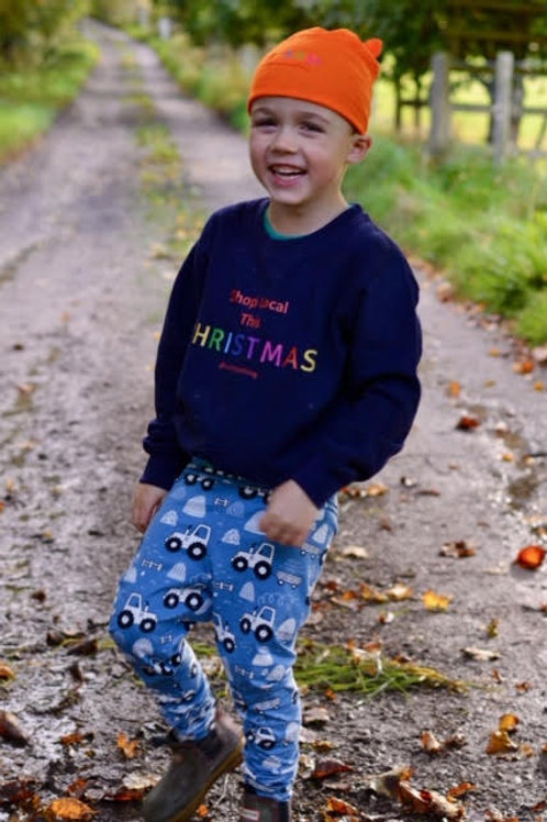 Children's Unisex Shop Local This Christmas Jumper