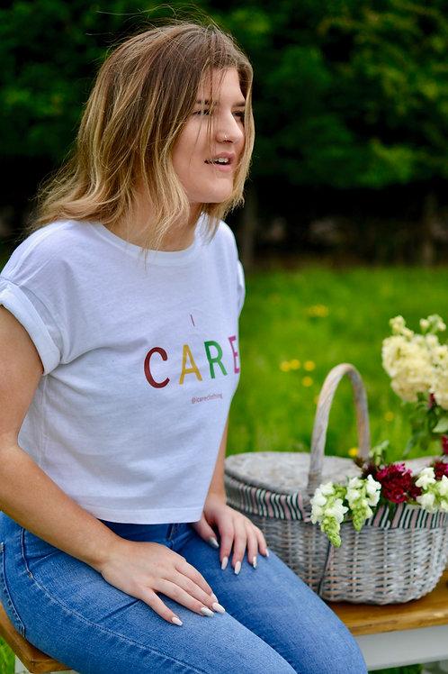 Ladies Organic Cropped T-Shirt