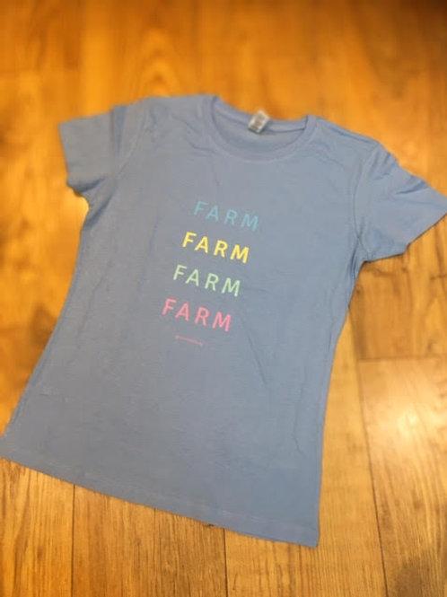 Childrens Pastel Farm T-Shirt
