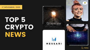Grayscale bitcoin holdings to Maisie Williams may join the Bitcoin world, Read Top 5 Crypto News