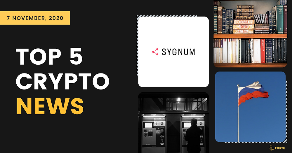 From Norway going almost cashless to Sygnum's Tezos staking services, read today's Top 5 Crypto News