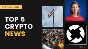 Top 5 Crypto News: Blockchain supporting Coronavirus aid program to Crypto Industry growing in India