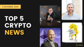 Joseph Lubin on Ethereum 2.0 to Twin regretting not investing in BTC, Read Today's Top 5 Crypto News