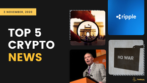 Top 5 Crypto News: From India seeing growth in Cryptocurrency users to Blockchain saving the World