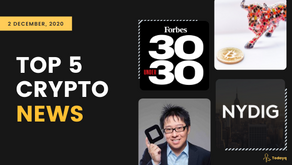 Bitcoin leaders making to Forbes to Samson Mow views about Bitcoin, Read Today's Top 5 Crypto News