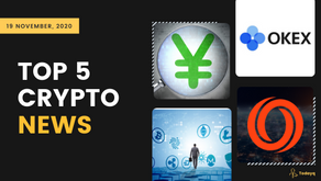 Japan tests Digital Yen to OKEx's withdrawal reopens, Read Today's Top 5 Crypto News