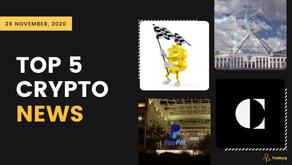 APEX:E3 contest on crypto algorithms to Australia's blockchain use, Read Today's Top 5 Crypto News