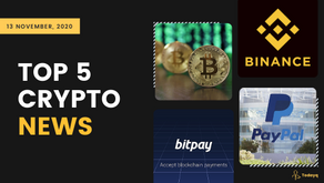 PayPal crypto service live in the US to Binance Ethereum Mining Pool, Read Today's Top 5 Crypto News