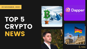 Binance P2P growth to Germany's Minister wanting CBDC at earliest, Read Today's Top 5 Crypto News