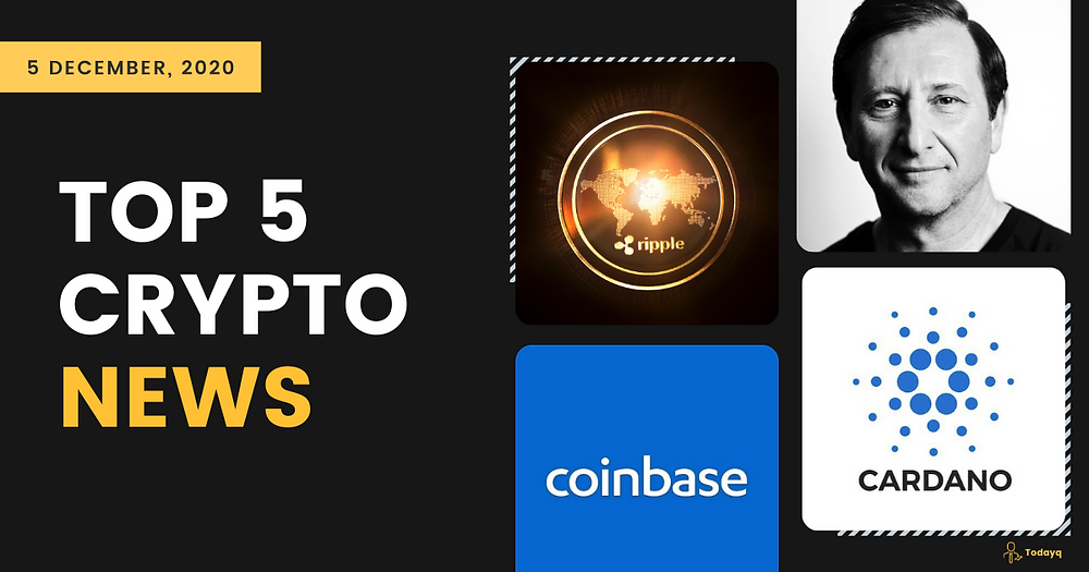 Coinbase helps to prevent patent overreach to No one will ban Bitcoin, Today's Top 5 Crypto News