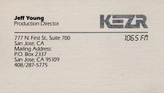 Jeff Young - KEZR Production Director