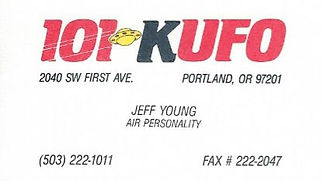 Jeff Young - KUFO Portland