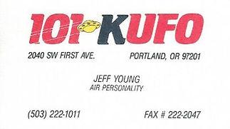 Jeff Young - KUFO Portland