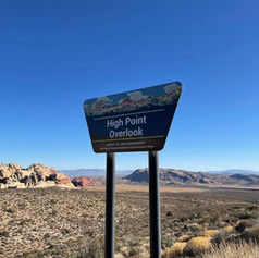 High Point Overlook - Red Rock Canyon