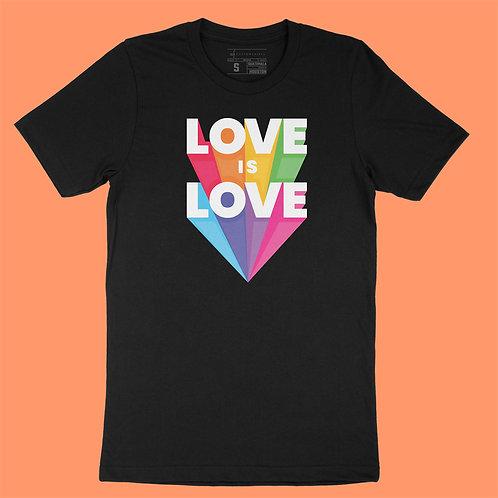 Softway - Love is Love - Black Tee