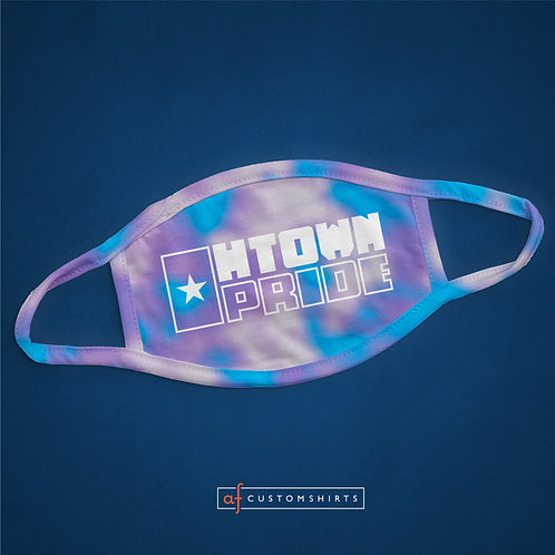 H-Town Pride Mask - Cotton Candy