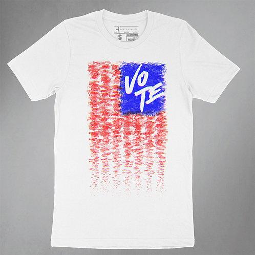 VOTE Scribbles - US Flag