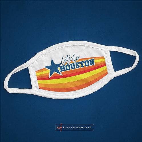 Let's Go Houston - Mask