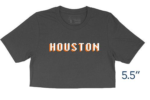 Houston 8-bit - Crop Top