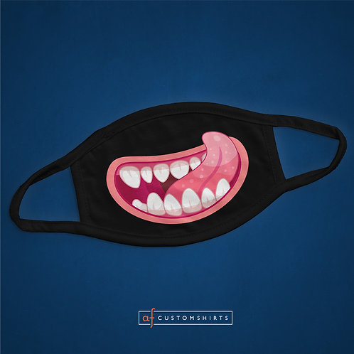 Monster Mouth - Pink - Mask