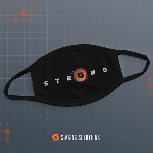 SSI - Strong (Black) - Face Mask